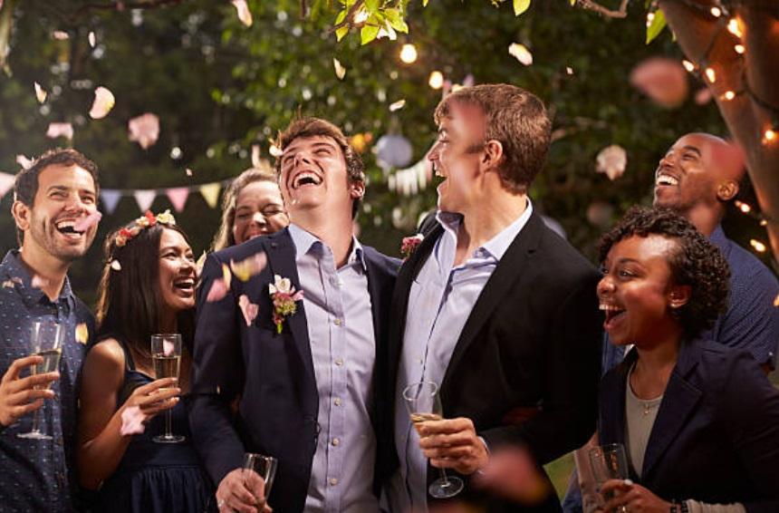 bride and groom duties